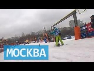 В Москве прошли горнолыжные соревнования детей с ограниченными возможностями
