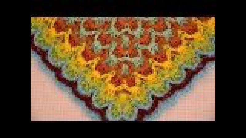 ♥ Барджелло крючком • Узор для Пледа • Мастер-класс • Crochet Bargello Blanket » Freewka.com - Смотреть онлайн в хорощем качестве