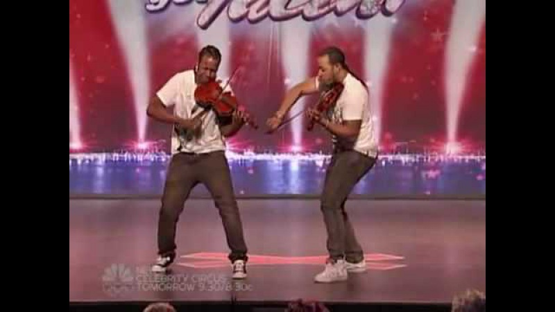 America got talent Nuttin but stringz Amazing violin