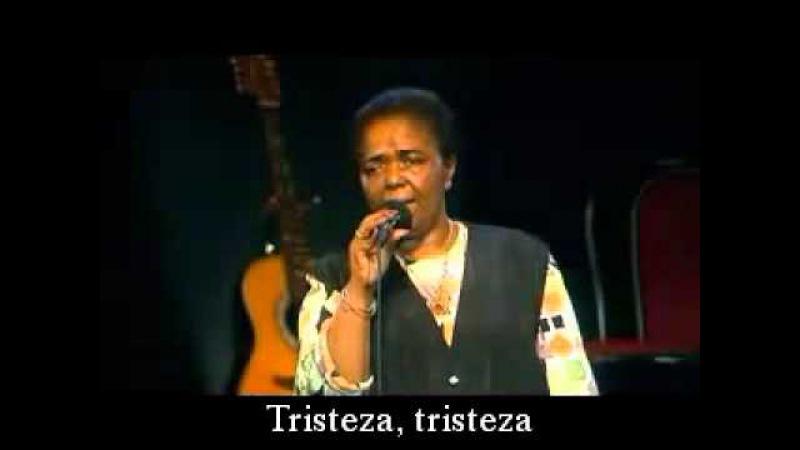 Cesaria Evora, Sodade (subtítulos en español)