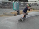 3 year old skateboarder axle grinds and shreds parks and ramps