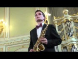 Matvey Sherling perform «Concerto» Glazunov Alexander