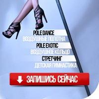 Логотип Pole Dance студия CATS, танцы Петрозаводск