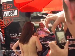 Jennifer Nude in Public 2
