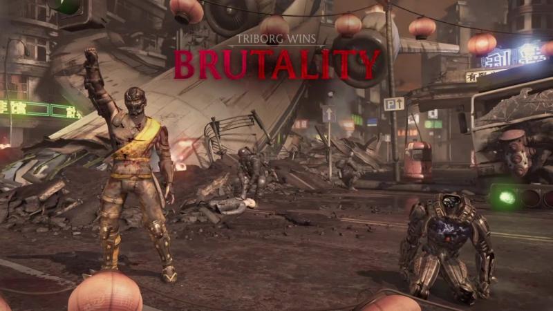 Mortal Kombat XL_Triborg Smoke awesome Xray Brutality