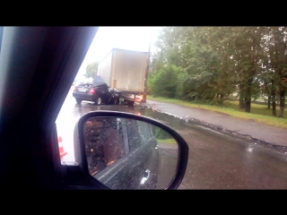 Крас раб 27. У водителя 0.50 промили, пассажир погиб. 4.50 утра 24.07.2015.