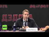 "Russia: ""I love the Russian people"" - Ryan Reynolds premiers Deadpool in Moscow"