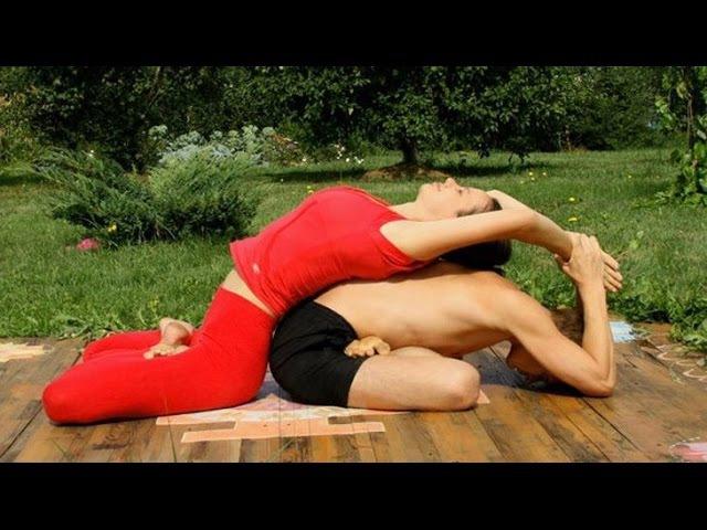 Йога для двоих или парная Йога