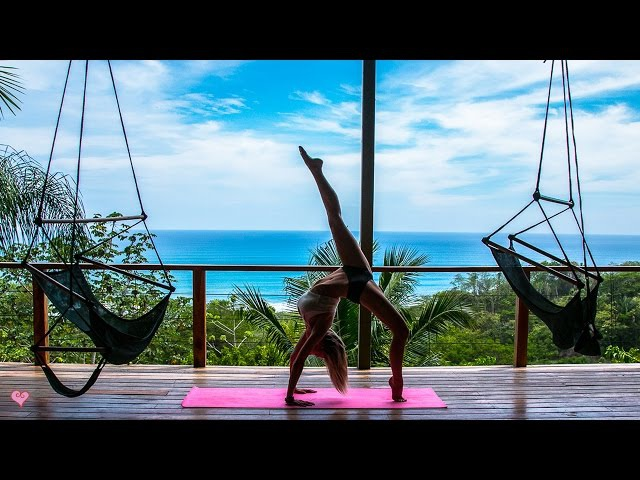 Peaceful Yoga Workout ♥ Core Balance | Jane of the Jungle Flow