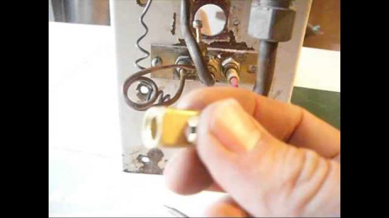 Тухнет не зажигается фитиль, запальник в газовом котле EUROSIT 630.