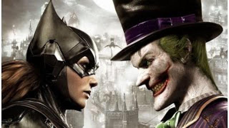 Batgirl DLC All Cutscenes (Game Movie)