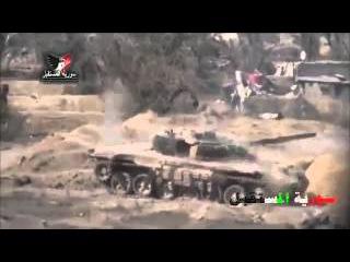 undefined18 Сирия! танки укатывают! жестокие бои! WAR FOR SYRIA !