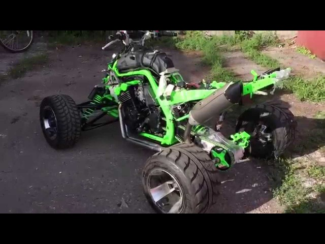 Test drive Raptor600RS crash.