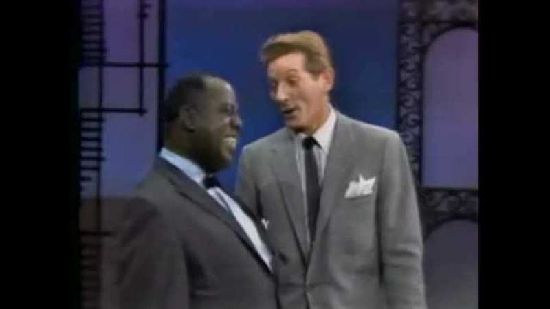 Louis Armstrong Danny Kaye 'When The Saints Go Marching In'
