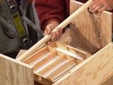 Самодельный ящик из фанеры для хранения инструмента в мастерской изготовленный своими руками 2015