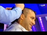 Mido shaves his hair on air as Leicester City wins EPL [07-05-2015] - ميدو يحلق شعره بعد تتويج ليستر