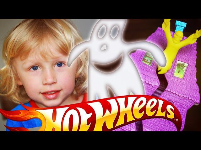 Хот Вилс Трек Дом с Привидениями, трасса Новинка от Хотвилс Hot Wheels deadmans curve