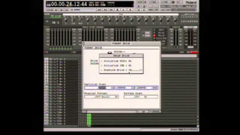 Transfering Songs From Roland VS-2480 To The PC Using VirDis