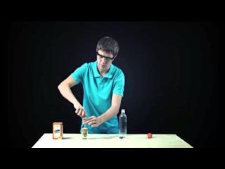 Простая наука - НАДУВАТЕЛЬ ДЛЯ ШАРИКА - Опыт 11 - Канал Карусель - Опыты для детей
