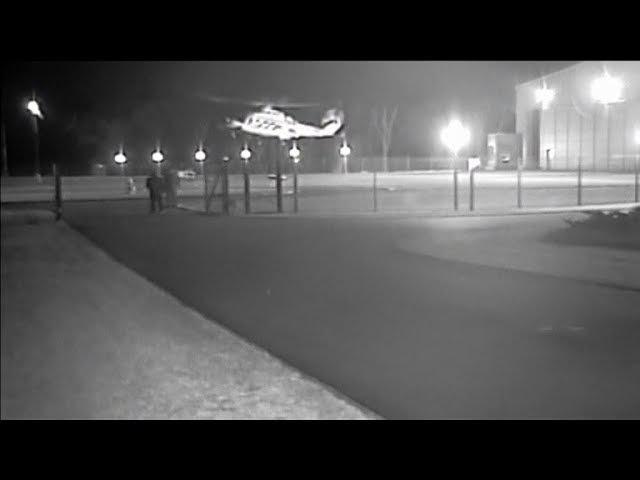 Янукович бежал из Межигорья на вертолете?