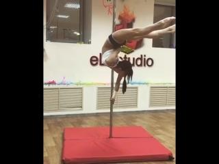 Pole dance. Хвост дракона, планка(Скайлайн)Lesya El'- Леся Эль