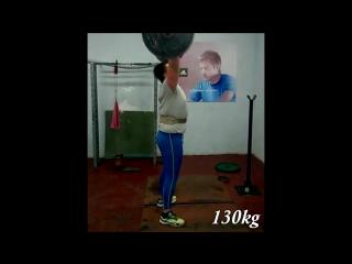 Ivan Kariuk Strong Man 130kg