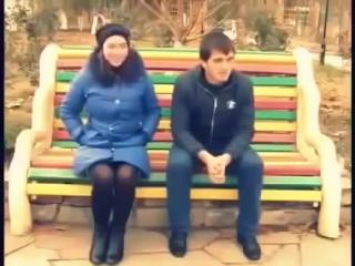 Parkda Qizlar bilan tanishish Mana BUnaqa bo'ladi Uzb Prikol 2015