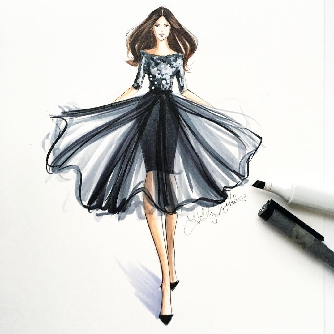 Holly Nichols Hnicholsillustration Instagram Photos And Videos Fashion Drawings