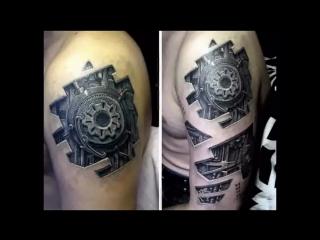 Лучшие 3D татуировки! Смотреть ВСЕМ!