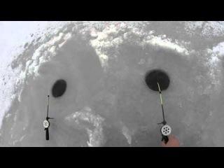 Трудовая зимняя рыбалка 2016 часть 1 (Дневник рыболова)