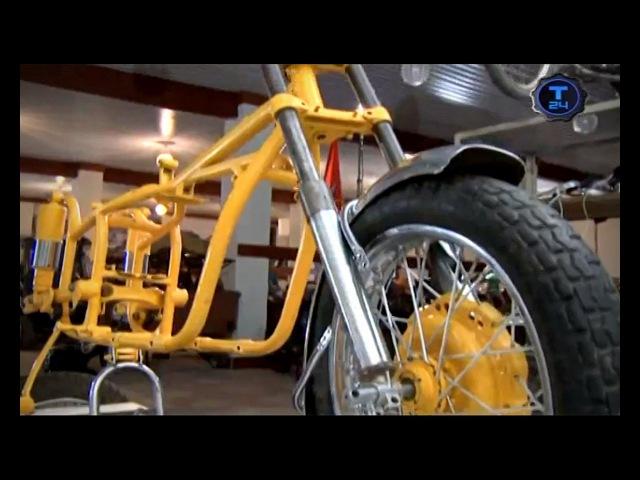 Реставраторы/Патрульный мотоцикл М-63/часть 1