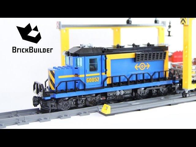 Конструктор Lepin Cities Грузовой поезд 02008 аналог LEGO City 60052