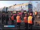 В Полесском районе поезд столкнулся с иномаркой, вылетевшей на пути на запрещающий сигнал