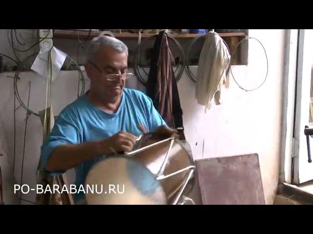 Дамир Мамедов. Кавказский барабан доул дхол PO-BARABANU.RU