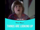 Идиомы в кино: Things are looking up (