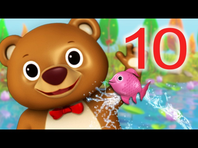 12345 Once I Caught A Fish Alive! | Nursery Rhymes | by LittleBabyBum!