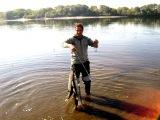 Рыбалка на реке Ока. Московская область.