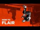 Обучение Флеер на самокате Flair on scooter Трюки на самокате для новичков