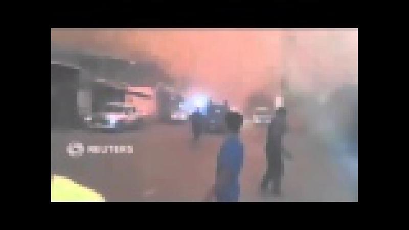 Rekaman Video Amatir - Badai Pasir Menyapu Kota Fallujah