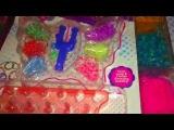 Мои наборы для плетения браслетов из резинок!