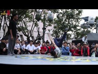 Manofgod vs Drunk | Youth Music and Dance Marathon 2015 | top8 | Strife.
