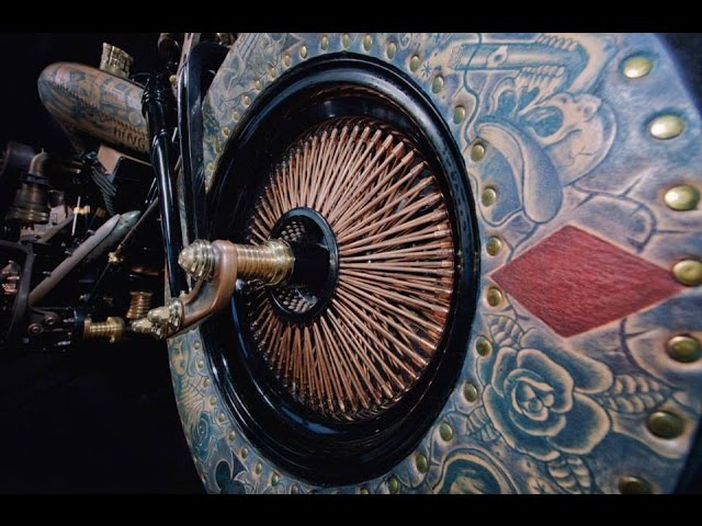 The Recidivist World's first tattooed motorcycle promo