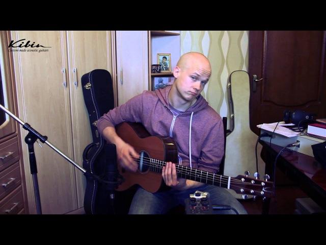 Petteri Sariola rocks on a Kibin guitar!