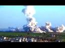 СИРИЯ Ракетный удар по укреплениям террористов в Идлибе SYRIA Rocket attack on terrorists in Idlib