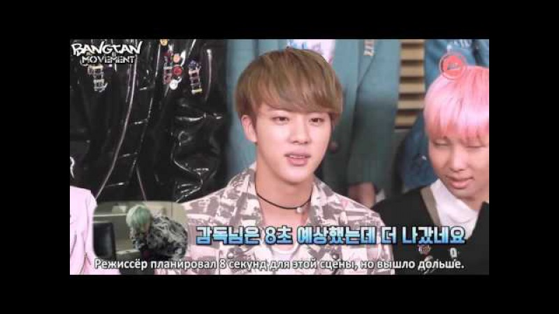 [RUS SUB]16.12.15 BTS Reaction to RUN MV News Ade 720