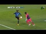 Ronaldinho takes the ball from the Goalkeeper - Queretaro vs Santos 3-0 Liga MX Final Vuelta