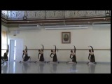 2013.Vaganova Akad.1-part.National ballet dance.examination. Teacher Postizheva. L.G