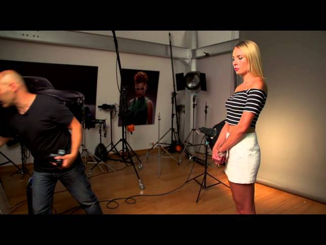 A Simple 2 Light Portrait Set-Up photography tutorial with Karl Taylor