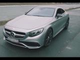 Тест драйв от Давидыча Mercedes S-coupe 63 AMG