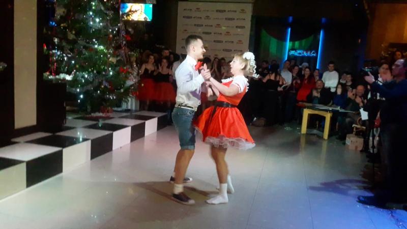 Танці з викладачами Голдис Давид та Оксана Миколаївна